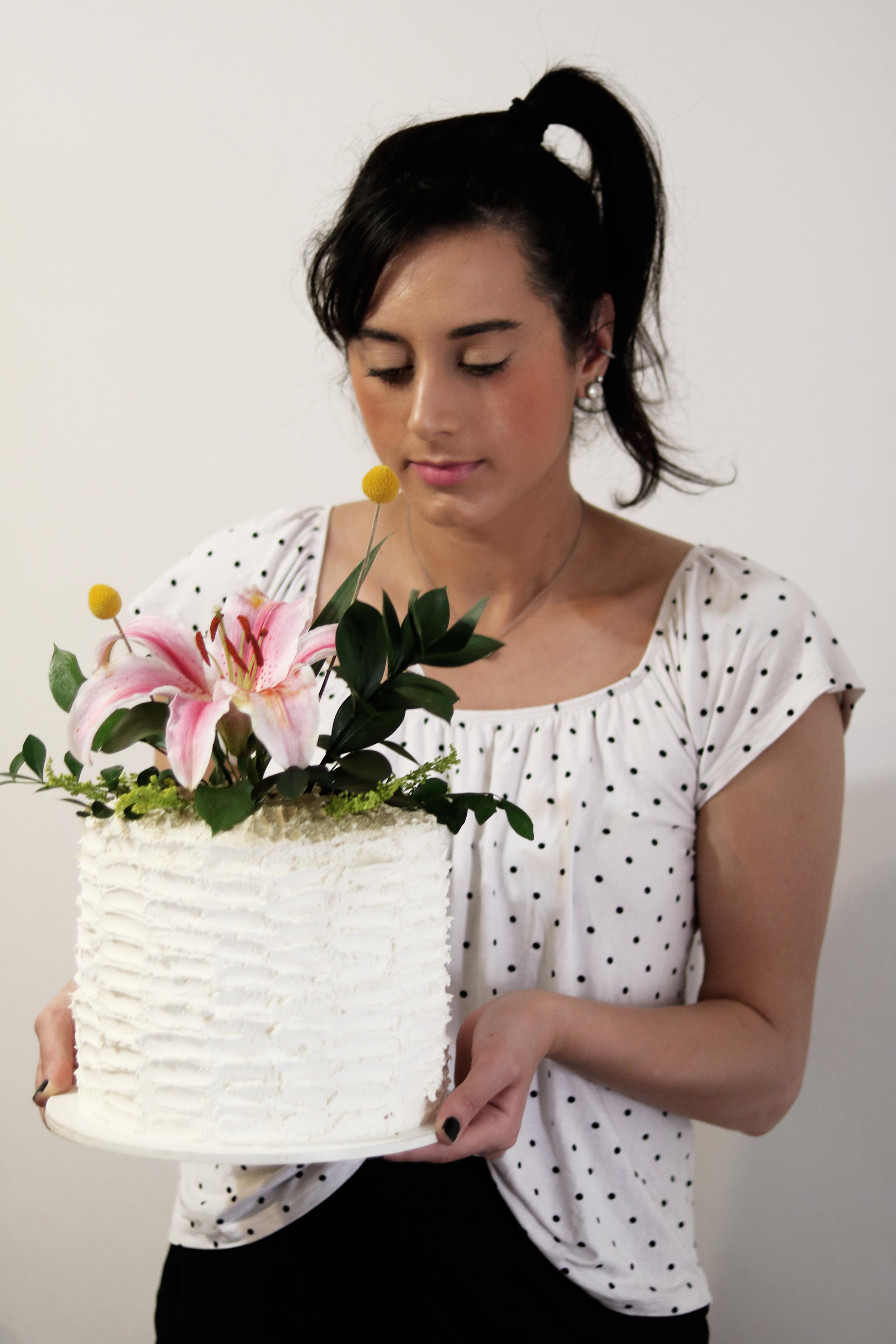 bolo de primavera
